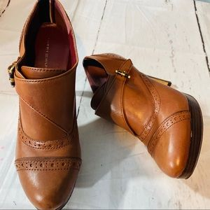 Tommy Hilfiger brown leather TWBRITHNEY shoes 7M